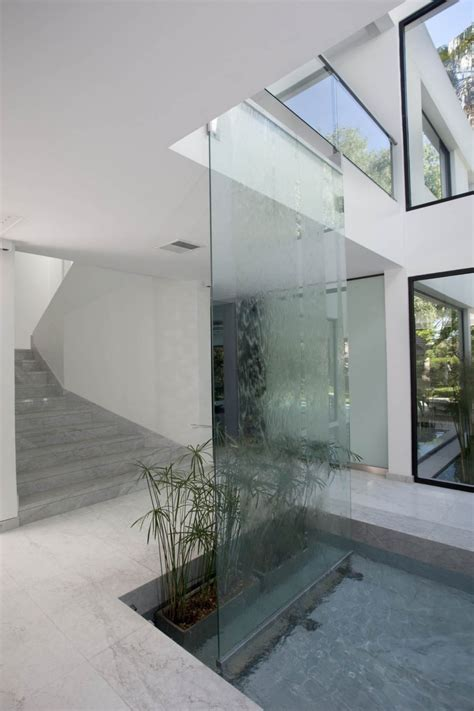 carrara house waterfall interior design ideas