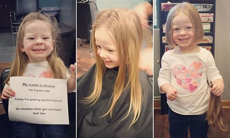 charity started by 7 year donates locks to children s alopecia charity