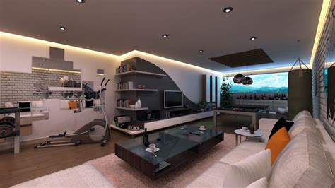 Classy Bedroom room design ideas for men with ultra modern interior