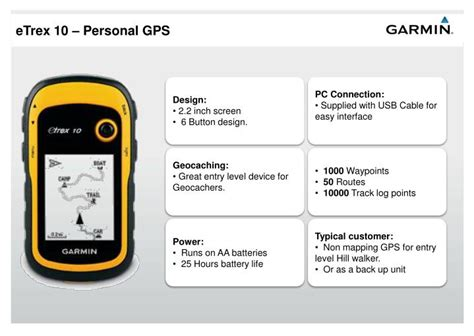 gps tutorial powerpoint ppt garmin gps training bronze level powerpoint