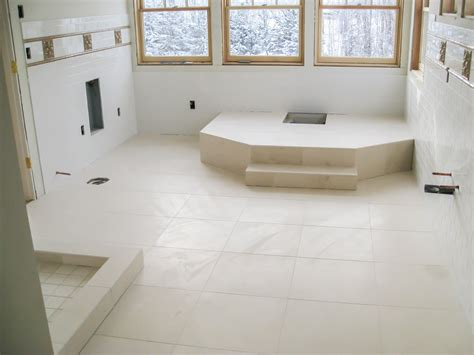 Bathroom Flooring by Bathroom Floors Seattle Tile Contractor Irc Tile Services