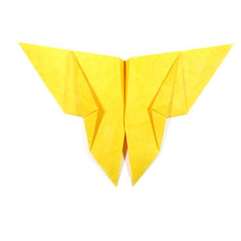 Traditional Origami Butterfly - how to make a traditional origami butterfly page 11