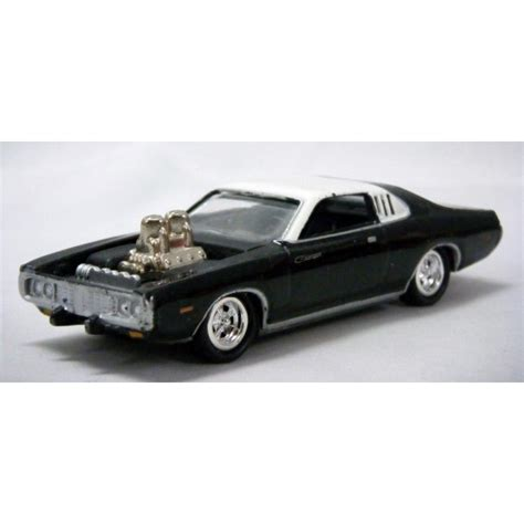 johnny dodge johnny lightning 1973 dodge charger global diecast direct