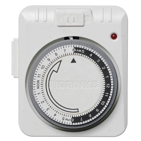 indoor timer security lights brinks home security mechanical indoor 12 event analog