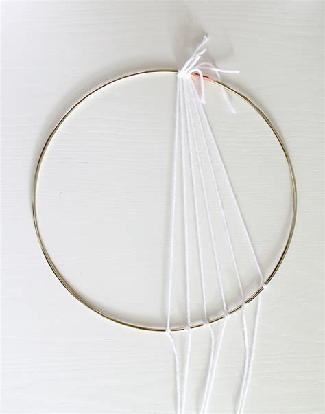 dreamcatcher web pattern meaning diy modern dreamcatcher almost makes perfect