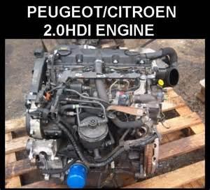 Peugeot 406 Engine Peugeot 406 2 0hdi Rhz 110 Bhp Engine