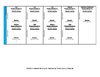 4th grade lesson plan template ccss lesson plan template fourth grade all subjects by the