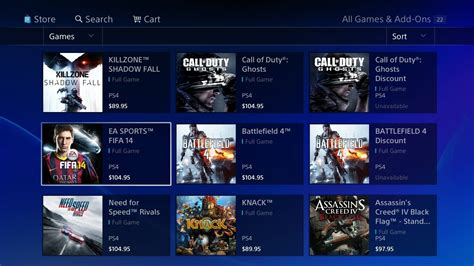 Play Store Ps4 Australian Playstation 4 Psn Store Shows Prices For