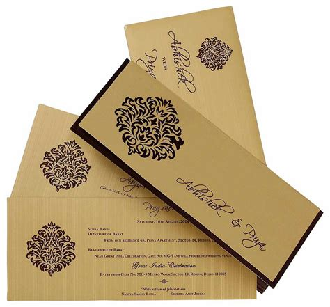Married Invite Card by Invitation Cards Printing Wedding Invitation Card