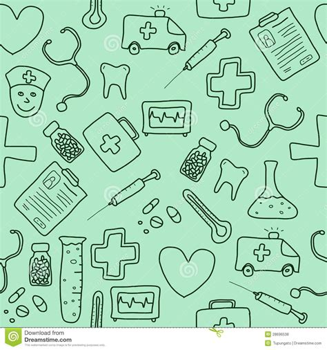 free medical background pattern medicine background stock vector illustration of object