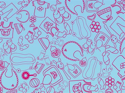 clothes pattern vector kid toys and clothes vector pattern vector free download