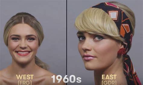 1980s german hairstyles 100 years of beauty in 1 minute germany hairstyles 2018