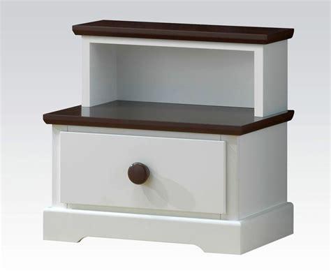 wood nightstand with drawers modern nightstand with drawers carneal drawer nightstand