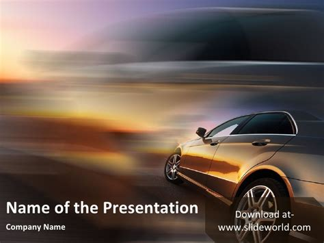 powerpoint themes cars car ppt templates