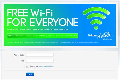 Wifi Telkom telkom mobile free wi fi tested