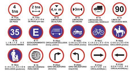 imagenes de signos visuales y su significado se 241 ales viales vialidad rionegrina