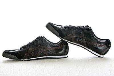 Sepatu Assic Onitsuka Hitam Abu gudang sepatu branded tiger onitsuka sepatu kets
