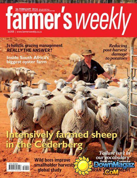 farmers weekly  february