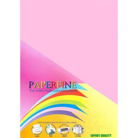 Kertas Hvs Warna Paperfine Gold paperfine kertas hvs warna a4 pink 500