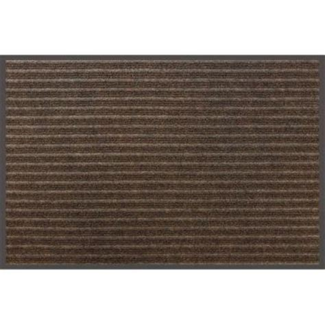 apache mills scraper brown 36 in x 48 in door mat