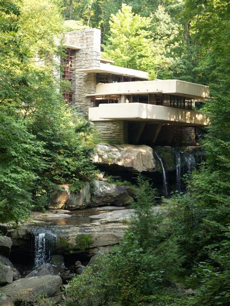 falling water architect fallingwater pictures standard view frank lloyd wright