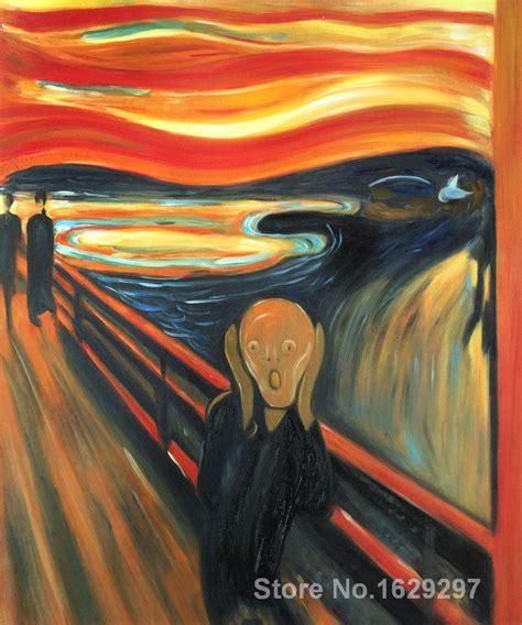 el grito de munch modern painting on canvas the scream edvard munch high
