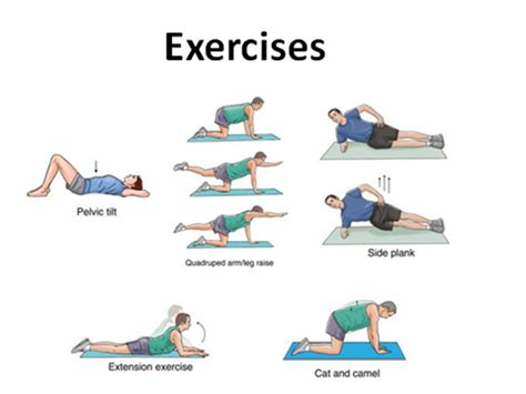 si joint exercises low back exercises and stretches