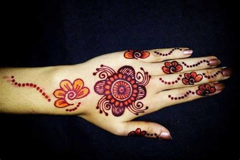 8 simple arabic mehndi designs for beginners