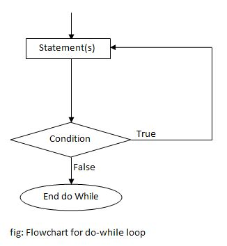 do while loop flowchart do while loop in c programming programtopia