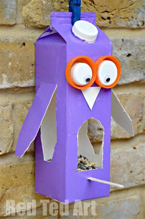 Bird Feeder Activity Juice Crafts Bird Feeder Bird Feeders Owl Bird