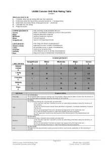 workplace health and safety audit template occupational health safety ohs risk assessment and