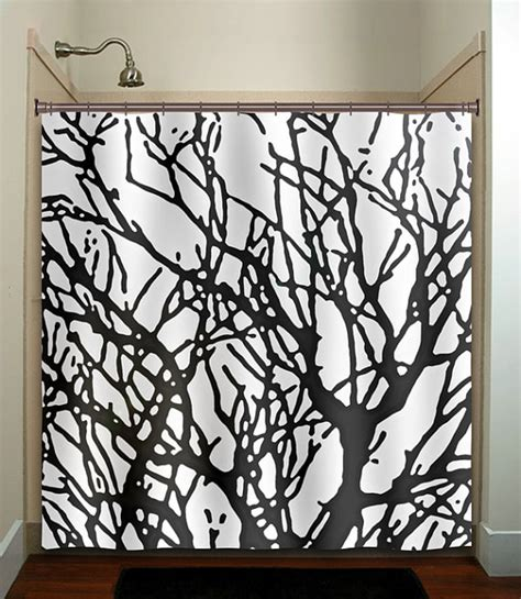 tree branch shower curtain branches tree branch shower curtain bathroom by tablishedworks
