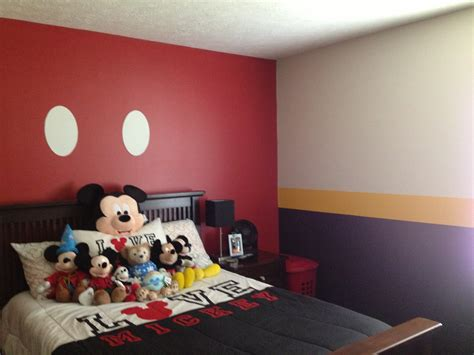 Mickey Mouse Bedrooms | mickey mouse bedroom baby kids bedroom ideas pinterest