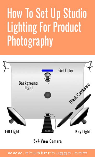 how to set up studio lighting how to set up studio lighting for product photography