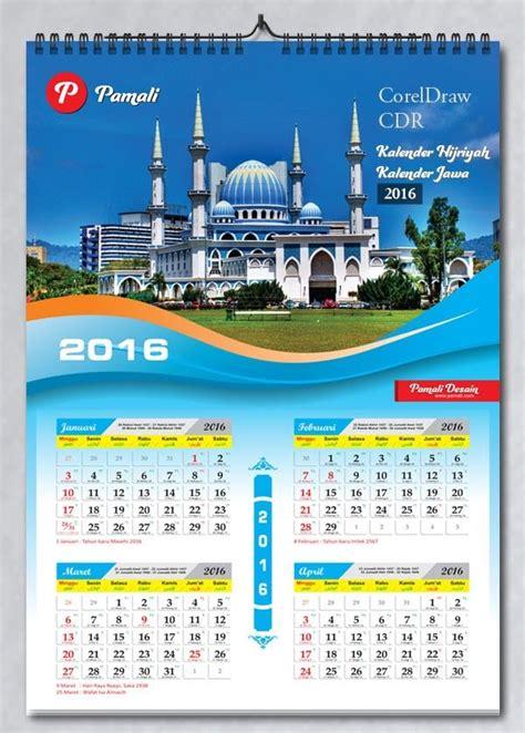 desain kalender jakarta download desain tanggalan 2016 gratis indonesia cetak