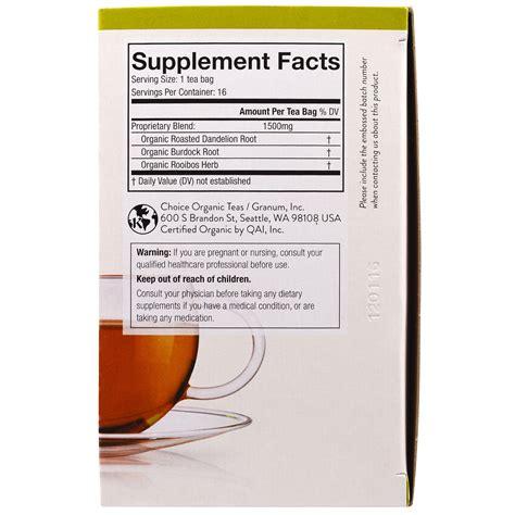 Choice Organic Tea Simply Detox Review by Choice Organic Teas Organic Simply Detox Roasted