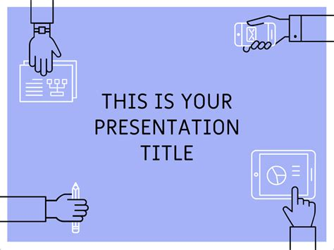 Free Powerpoint Template Or Google Slides Theme With Teamwork Illustrations Free Powerpoint Templates For Presentation