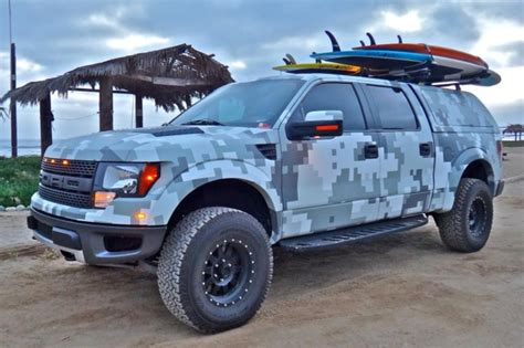 ford hunting truck digital camo raptor truck automobiles pinterest