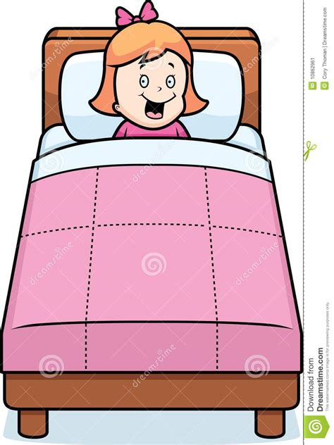 bed time girl clipart bedtime pencil and in color girl clipart