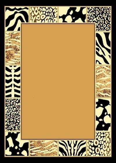 5 x 8 wholesale mixed border animal skin african safari