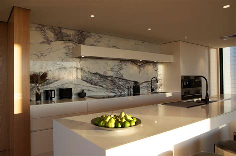 Two Island Kitchen view from the top corian
