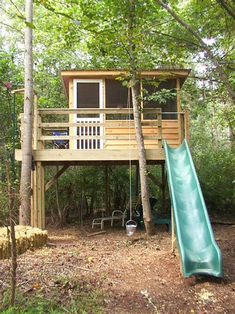 Cool Backyard Forts Best 20 Kids Tree Forts Ideas On Pinterest