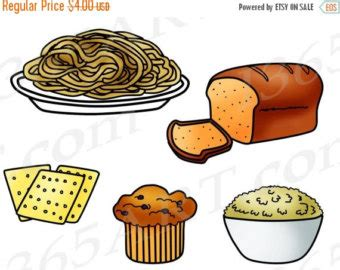 carbohydrates clipart clip foods with carbs cliparts