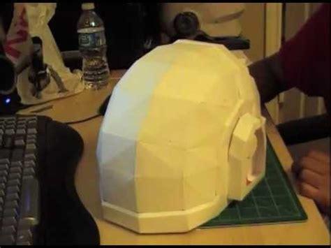 Daft Papercraft - daft manuel papercraft helmet