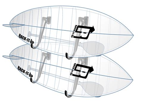 Stand Up Paddle Board Storage Racks by Stand Up Paddle Board Sup Storage Rack 2 Sets To Hold 2