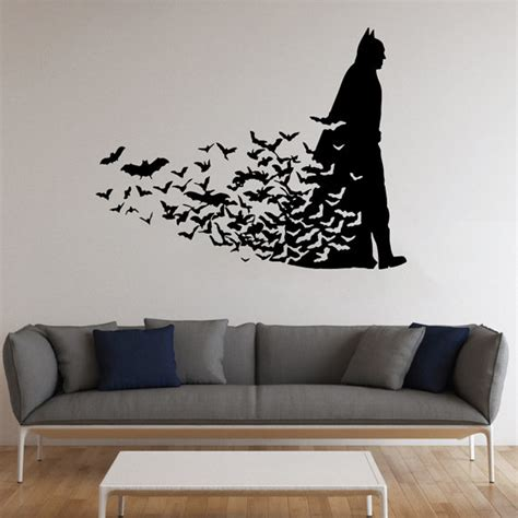 Child Bedroom Wall Stickers batman wall stickers wall art kids