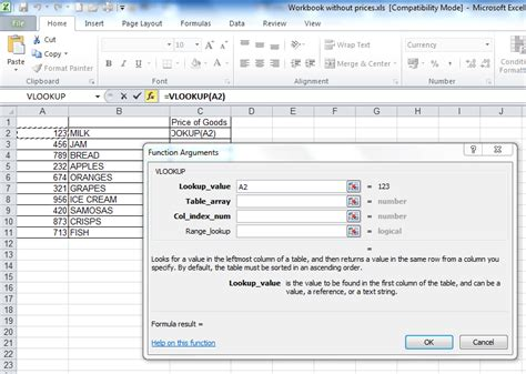 tutorial on vlookup in excel 2003 a step by step tutorial on a vlookup between two workbooks