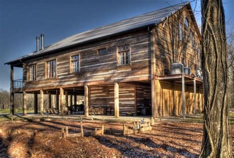 wood cabin homes salvaged wood cabin pole barn house cabin pinterest