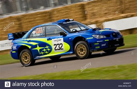 subaru wrc 2007 2007 subaru impreza wrc rally car at goodwood festival of