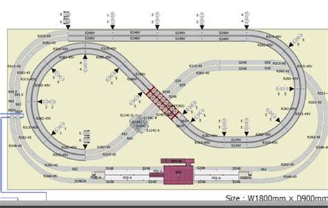 kato layout video kato unitrack train layout service passenger layout